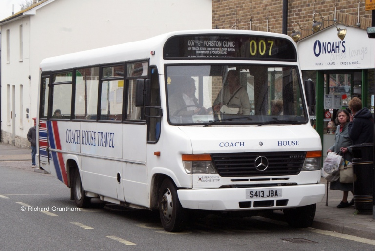 Coach House Travel Mercedes in 2009
