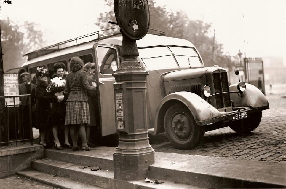 Les renault d 39 avant guerre les arr ts de car for Renault garage pantin