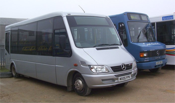 Low floor Mercedes for Bridport routes
