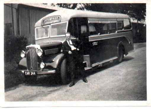 Lew Tompkins and CAR244 Bedford WTB