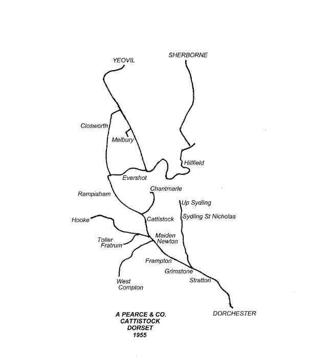Pearce Route Map