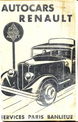 1934 timetable