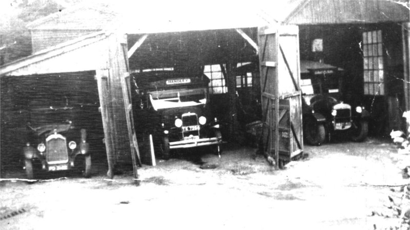 handley victory garage 1930s