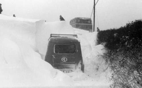 stuck in the snow 1963