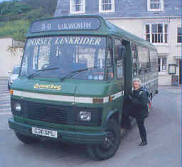 Mercedes at Lulworth Cove