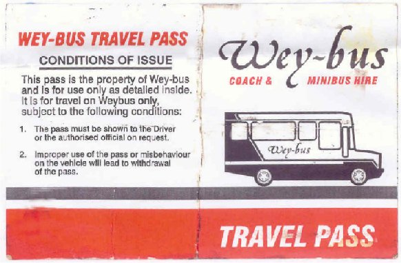weybus travel pass
